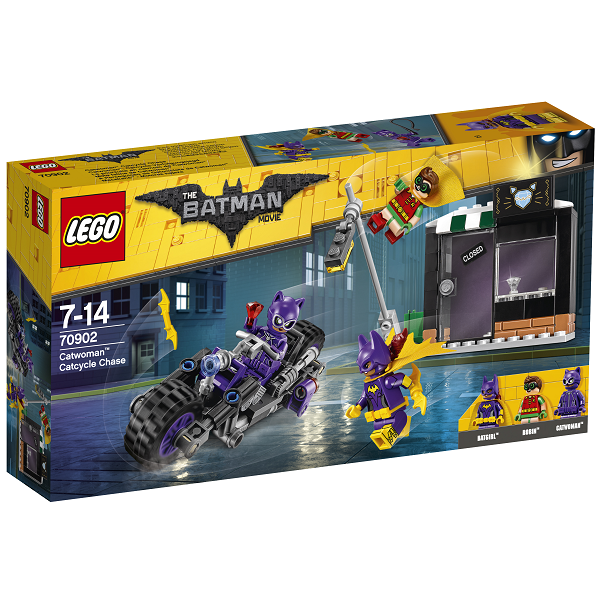 Catwoman kattecykeljagt - 70902 - LEGO Batman Movie