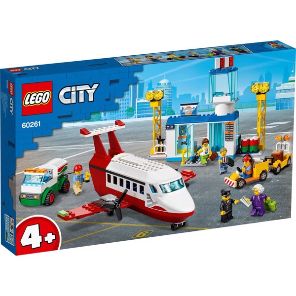 Image of Central lufthavn - 60261 - LEGO City (60261)