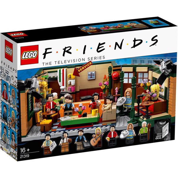 Image of Central Perk - 21319 - LEGO Ideas (21319)
