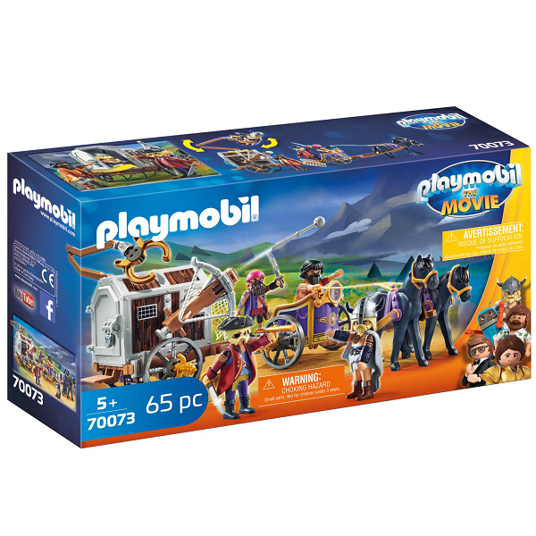 Image of Charlie med fængselsvogn - PL70073 - PLAYMOBIL The Movie (PL70073)