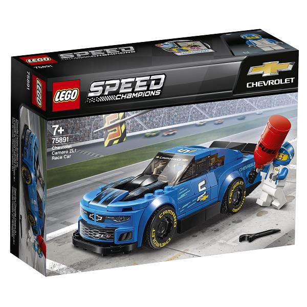 Image of Chevrolet Camaro ZL1-racerbil - 75891 - LEGO Speed Champions (75891)