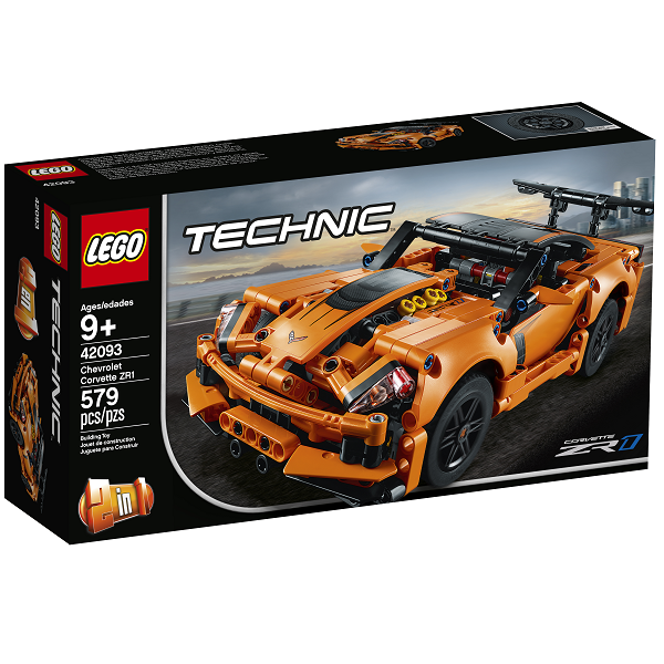 Image of Chevrolet Corvette ZR1 - 42093 - LEGO Technic (42093)