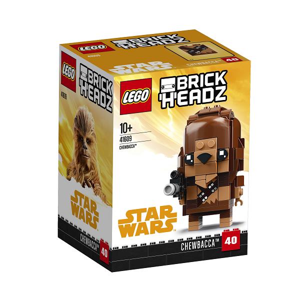 Image of Chewbacca - 41609 - LEGO BrickHeadz (41609)