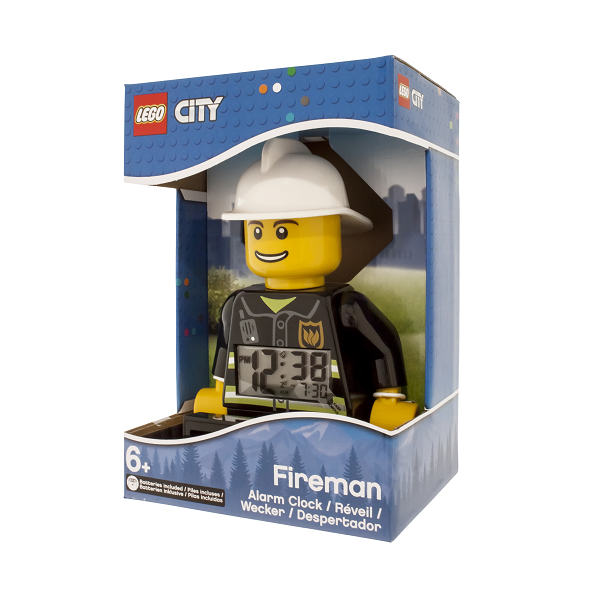LEGO City Brandmand-figur vækkeur - LEGO Watch