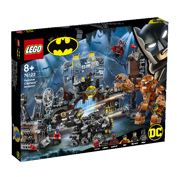 Image of Clayface-invasion af bathulen - 76122 - LEGO Super Heroes (76122)