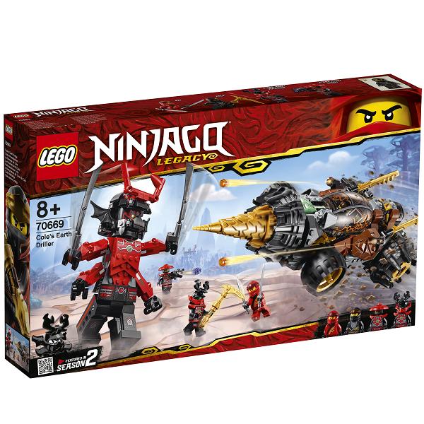 Image of Coles jordbor - 70669 - LEGO Ninjago (70669)