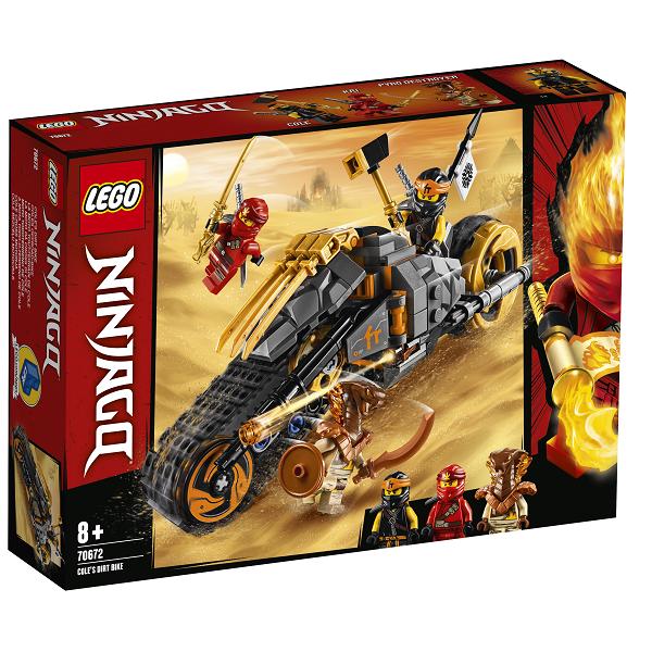 Image of Coles motocrosscykel - 70672 - LEGO Ninjago (70672)
