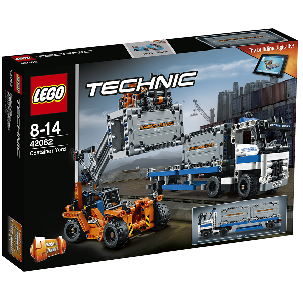 Image of Containertransport - 42062 - LEGO Technic (42062)