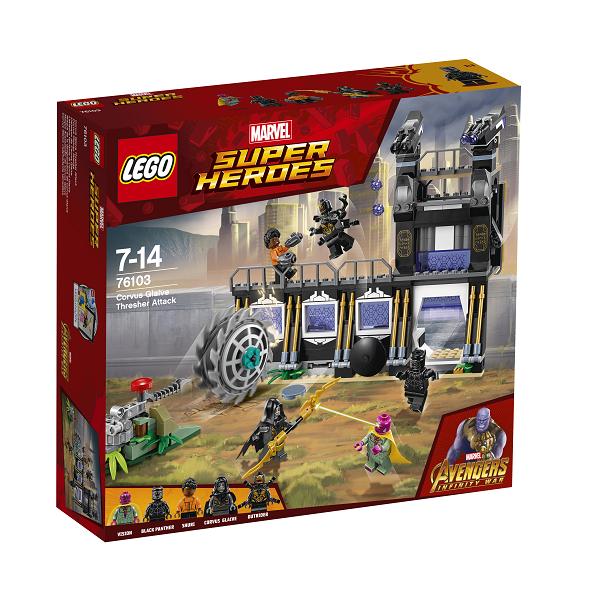Image of Corvus Glaive tærskerangreb - 76103 - LEGO Super Heroes (76103)