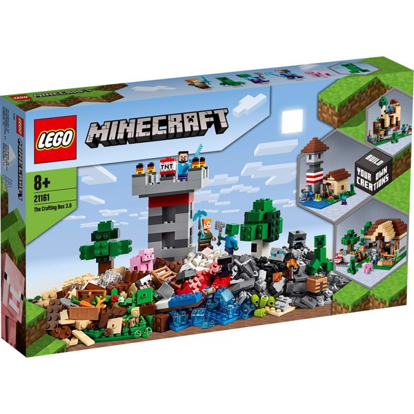 Image of Crafting-boks 3.0 - 21161 - LEGO Minecraft (21161)
