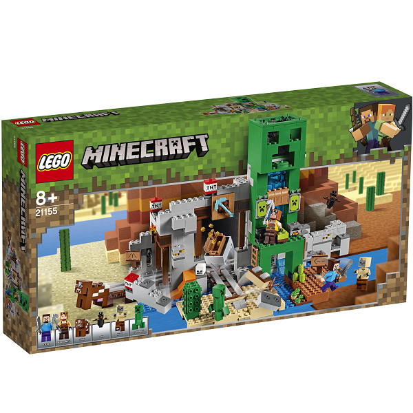 Image of Creeper-minen - 21155 - LEGO Minecraft (21155)