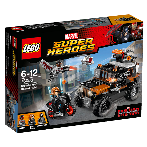 Image of Crossbones giftige tyveri - 76050 - LEGO Super Heroes (76050)