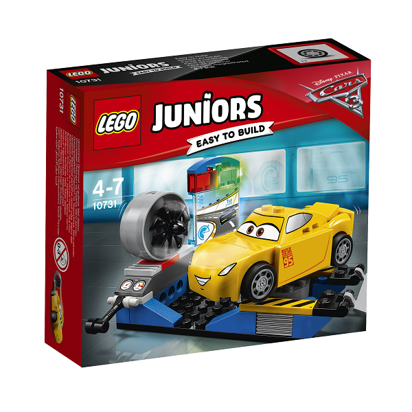 Image of Cruz Ramirez racersimulator - 10731 - LEGO Juniors (10731)