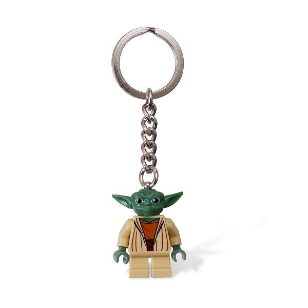Yoda nøglering - LEGO Star Wars