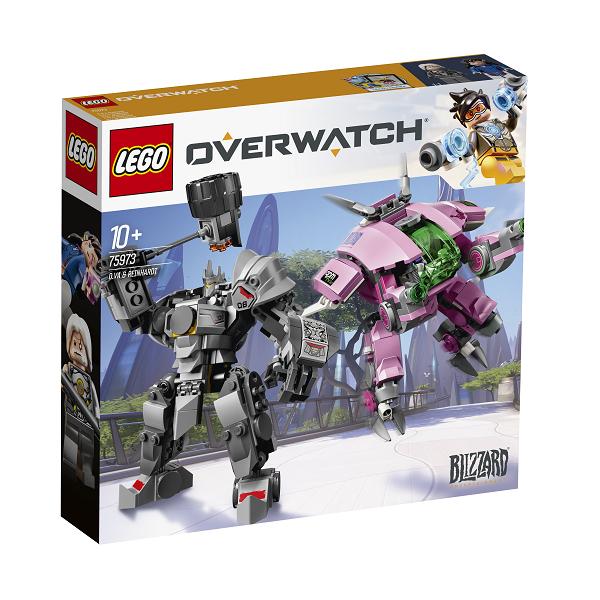 Image of   D.Va & Reinhardt - 75973 - LEGO Overwatch
