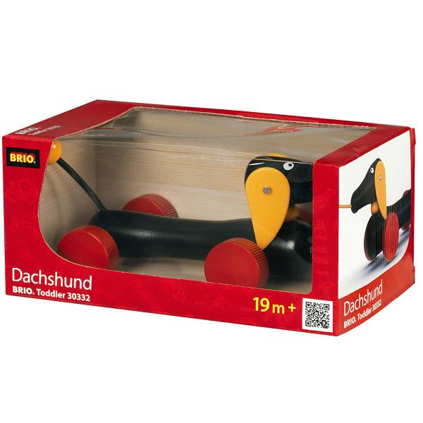 Dachsie, hund - 30332 - BRIO Toddler