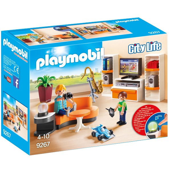 Image of   Dagligstue - PL9267 - PLAYMOBIL City Life
