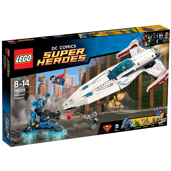 Image of   Darkseids angreb - 76028 - LEGO Super Heroes