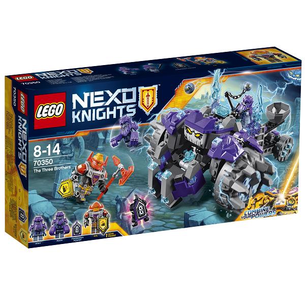 Image of   De tre brødre - 70350 - LEGO Nexo Knights