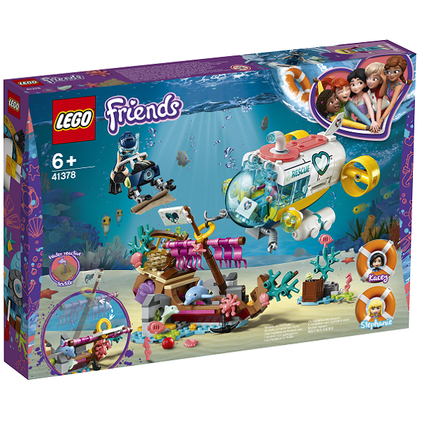 Image of   Delfinredningsmission - 41378 - LEGO Friends