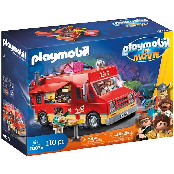 Image of   Dels madvogn - PL70075 - PLAYMOBIL The Movie