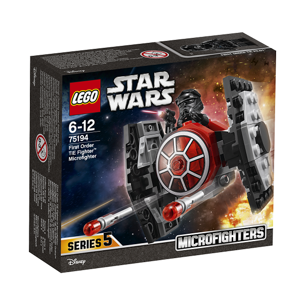 Image of Den Første Ordens TIE-jager Microfighter - 75194 - LEGO Star Wars (75194)