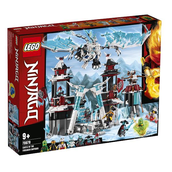 Image of   Den forladte kejsers borg - 70678 - LEGO Ninjago