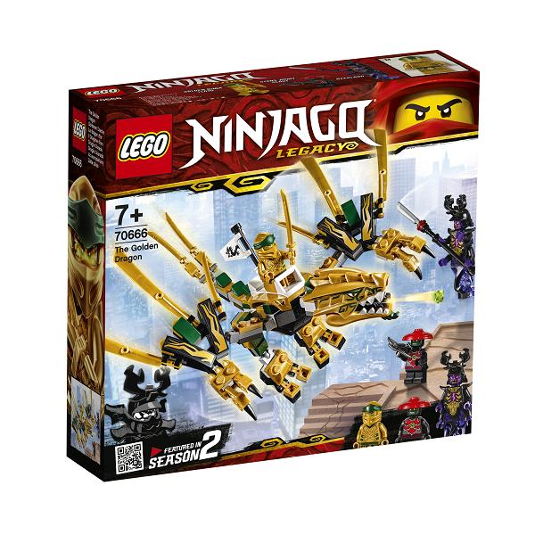 Image of Den gyldne drage - 70666 - LEGO Ninjago (70666)
