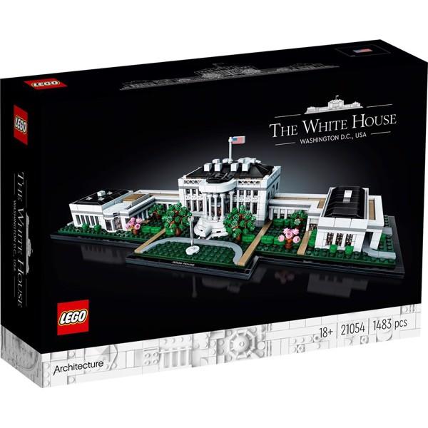 Image of Det Hvide Hus - 21054 - LEGO Architecture (21054)