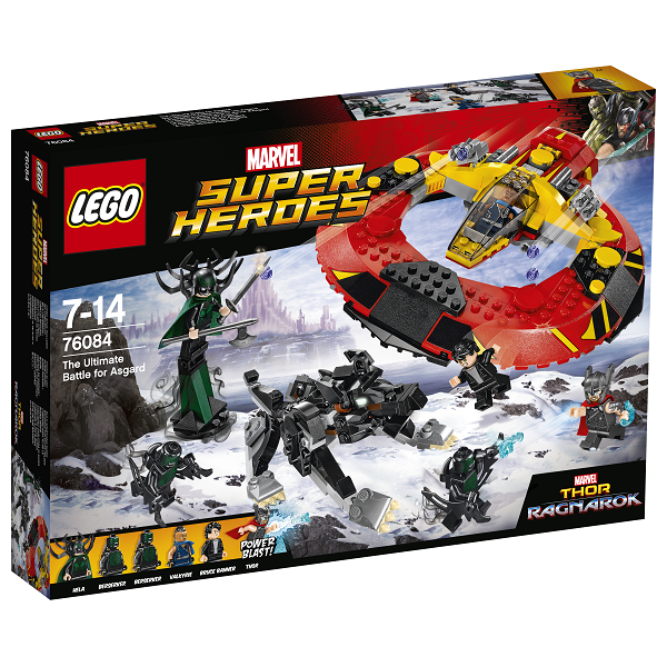 Image of Det ultimative slag om Asgård - 76084 - LEGO Super Heroes (76084)