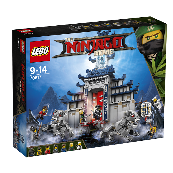 Image of Det ultimative ultimative våbens tempel - 70617 - LEGO Ninjago (70617)