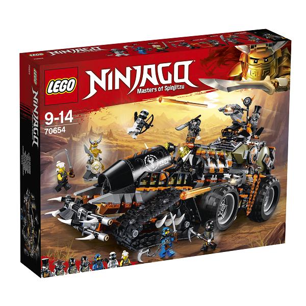 Image of   Dieselnaut - 70654 - LEGO Ninjago