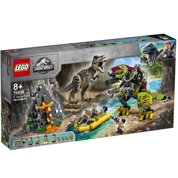 Image of Dinokamp: T. rex mod dinosaurrobot - 75938 - LEGO Jurassic World (75938)