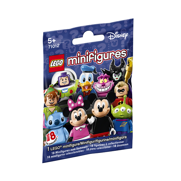 Image of Disney serien - 71012 - Lego Minifigures (71012)