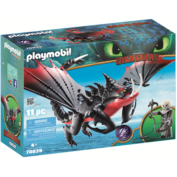 Image of Dødsklo og Grimmel - PL70039 - PLAYMOBIL Dragons (PL70039)