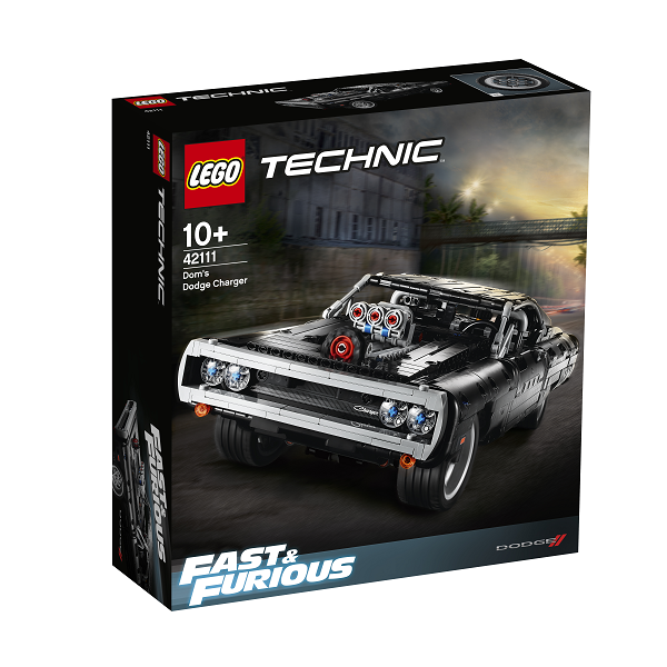 Image of Dom's Dodge Charger - 42111 - LEGO Technic (42111)
