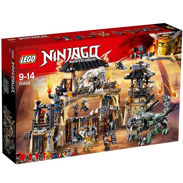 Image of   Dragegård - 70655 - LEGO Ninjago