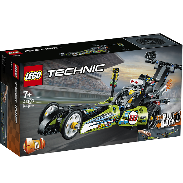 Image of   Dragster - 42103 - LEGO Technic