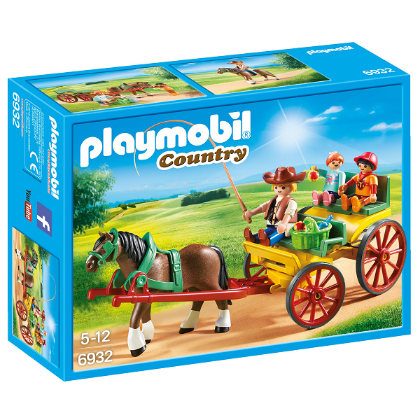 Image of Droske - PL6932 - PLAYMOBIL Country (PL6932)