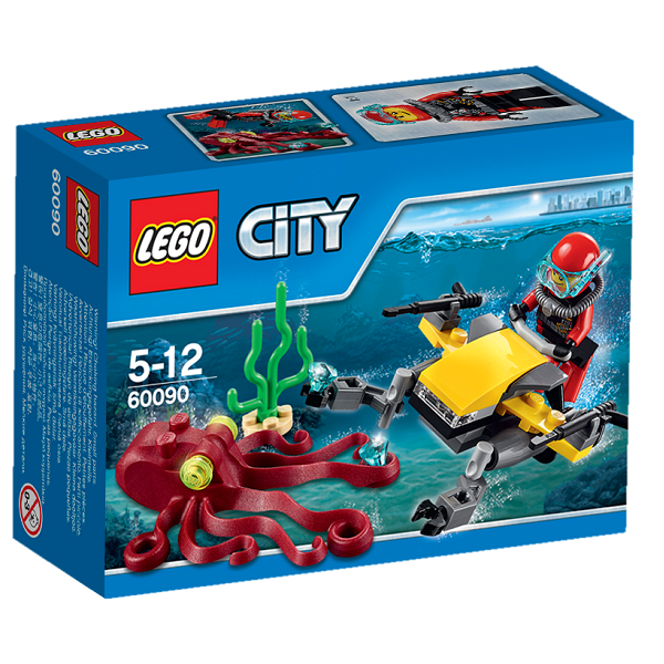 Image of Dybhavsscooter - 60090 - LEGO City (60090)