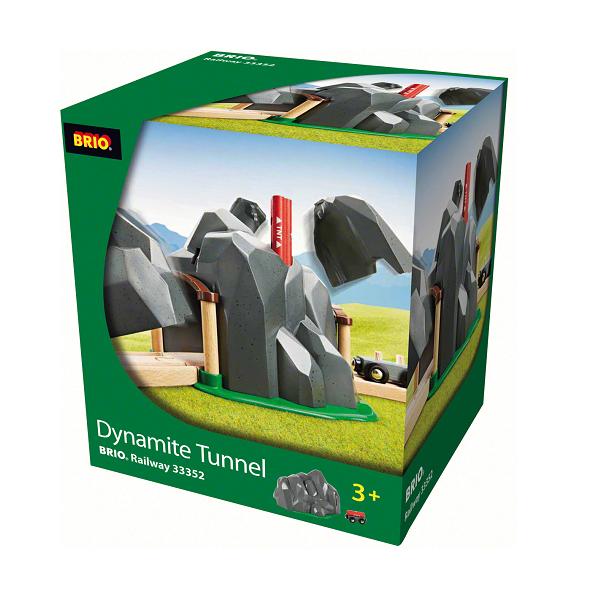 Dynamittunnel - 33352 - BRIO Tog