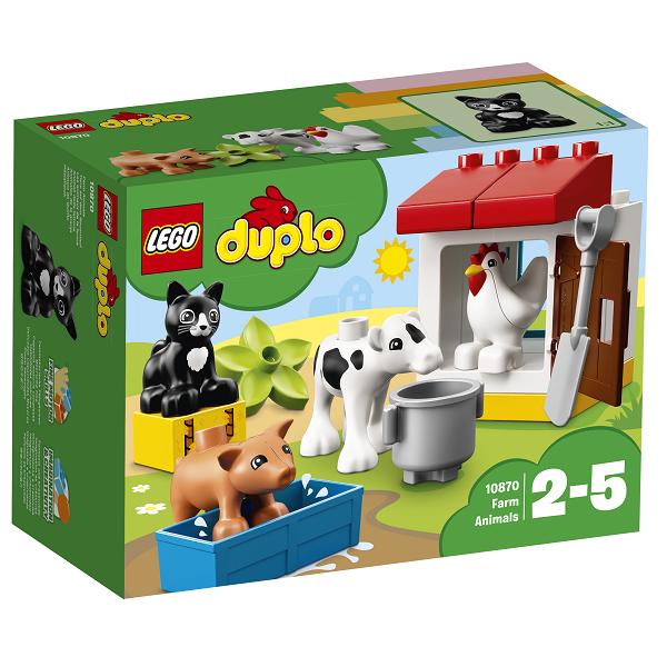 Image of   Dyr på bondegården - 10870 - LEGO DUPLO