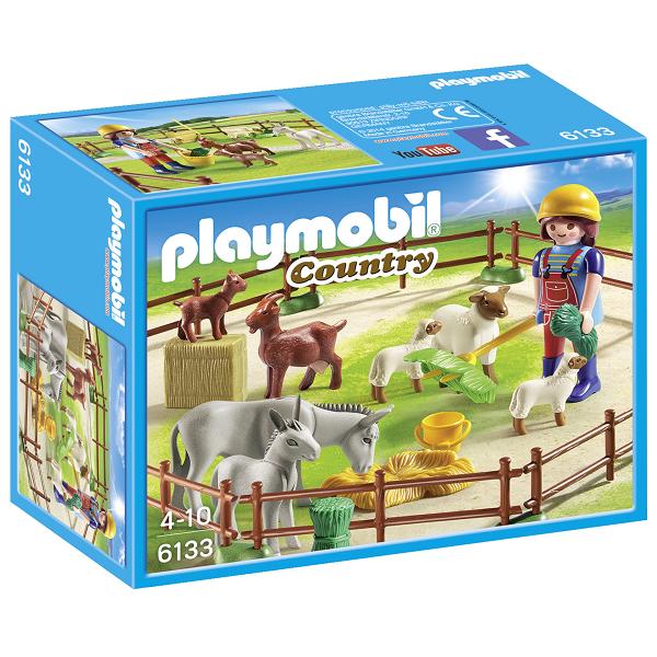 Image of Dyrenes græsmark - PL6133 - PLAYMOBIL Country (PL6133)