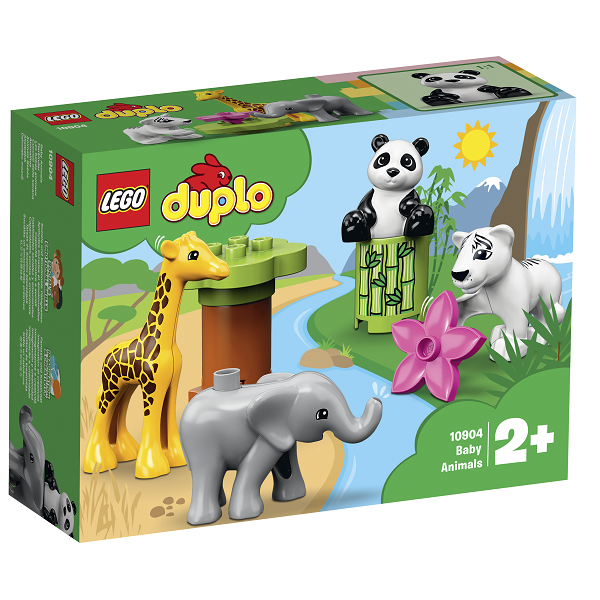 Image of   Dyreunger - 10904 - LEGO DUPLO