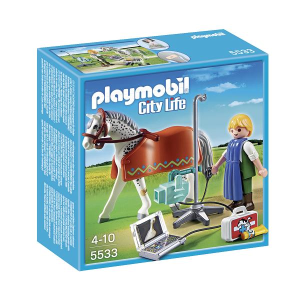 Image of Dyrlæge med røngtenapparat - 5533 - PLAYMOBIL City Life (PL5533)