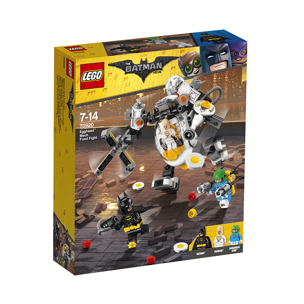Image of   Egghead robotmadkamp - 70920 - LEGO Batman Movie