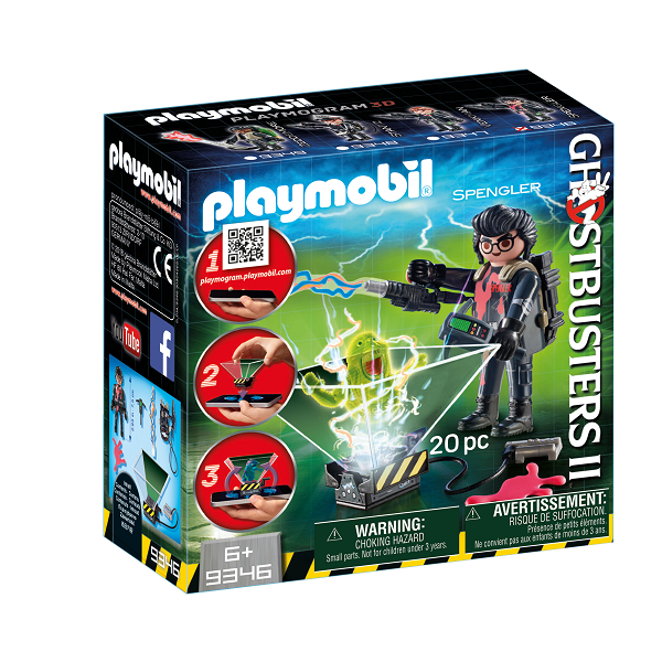 Image of Ghostbuster Egon Spengler - 9346 - PLAYMOBIL Ghostbusters (PL9346)