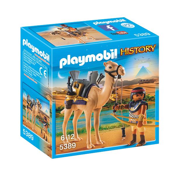 Image of Egyptisk kriger med kamel - PL5389 - PLAYMOBIL History (PL5389)