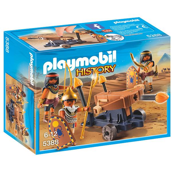 Image of Egyptisk soldat med rambuk - PL5388 - PLAYMOBIL History (PL5388)