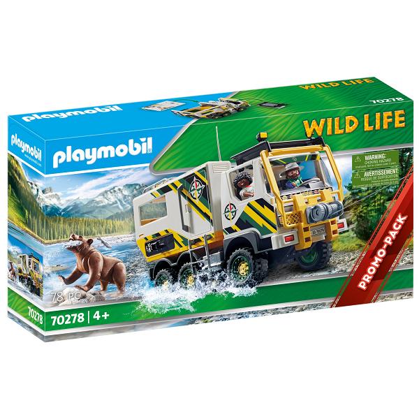 Image of Ekspeditionstruck - PL70278 - PLAYMOBIL Wild Life (PL70278)